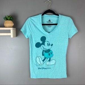 Disney Parks blue Mickey Mouse shirt size small